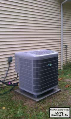 Carrier Infinity Series Heat Pump